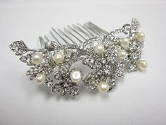 Pearl hair comb wedding hair comb wedding comb wedding by Amoretto
