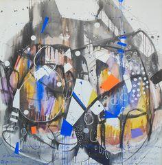 """CERAMIO""  Técnica mixta 145 x 140 cm."