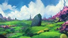 Fairy tale environment, Halil Ural on ArtStation at https://www.artstation.com/artwork/fairy-tale-environment