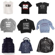 Capsule Wardrobe Tops Run Dmc, Fall Capsule Wardrobe, Running, Boys, Polyvore, Image, Fashion, Baby Boys, Moda