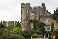 Malahide Castle (Ireland) #Castle #Ireland