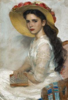 """jacquelinethings: """"  Erich Ernst Heilmann - Bildnis einer jungen Frau (portrait of a young woman) """""""