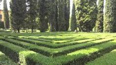 Verona parco di Villa Giusti del Giardino, via YouTube.