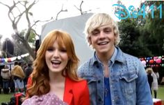 Video: Behind The Scenes Look At Ross Lynch And Bella Thorne Filming Danimals Burstified Commercial