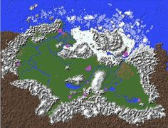 Fase 12. Retoque final zona glaciares