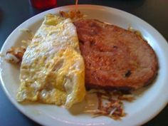 The Big Ham at Baby Boomers Cafe.