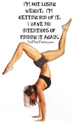 Weight loss motivation. I agree!