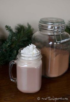 3 Ingredient Old Fashioned Hot Chocolate | Over The Big Moon