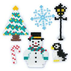 Perler Beads Fused Bead Kit - Snowman by Perler Beads, http://www.amazon.com/dp/B00920B210/ref=cm_sw_r_pi_dp_-bjjsb19AQ9X2