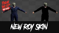 New Roy Skin - friday the 13th game