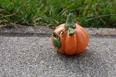 Halloween Kürbis aus MiraJolie Pumpkin, Vegetables, Food, Play Dough, Buttercup Squash, Meal, Pumpkins, Essen, Vegetable Recipes