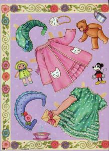 flossie flirt paper doll outfits and accessories