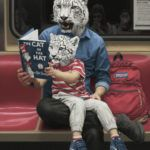 Surreal Paintings by Matthew Grabelsky Take the New York City Subway for a Wild Ride Colossal Art, Surrealism Painting, Art Boards, New York City, Creatures, Graphic Design, Funny, Paintings, Culture