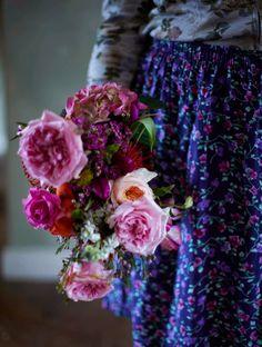 Selina Lake: Floral Shoot