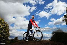 Sir Bradley Wiggins of Great Britain and the Wiggins team poses for a photo ahead of the Tour de Yorkshire on April 30, 2015 in York, England.
