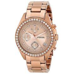 4770720dc013 Fossil Damenuhr Decker ES3352 Chronograph Quartz... zum Verkauf online auf Crivelli  Shopping zum
