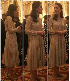"""764 Likes, 5 Comments - HRH The Duchess Of Cambridge (@duchesse_kate) on Instagram: """"Catherine tonight's amazing outfit ! Sorry for the quelity but we don't have other picture yet..."""""""