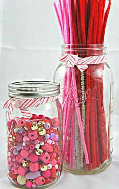 Quick crafts for your kids: Beads and Pipe Cleaners from @Jane @ Seeking Shade for your 2 supply tuesday!
