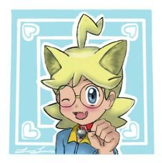 My Neko Clemont Digital Artwork!!!^-^ A Soothe Bell is on the collar😸 I may need to update it later to fix up a few things