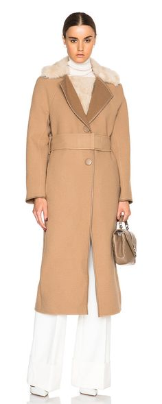 CALVIN KLEIN COLLECTION Eston double face lamb shearling jacket found on Nudevotion