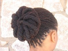 Embracing the Culture of Locs & Textured Hair — Microlocs Pinwheel - Modern Hair Afro, Hair Locks, Hair Buns, Dreadlock Styles, Dreads Styles, Sisterlocks, Natural Hair Styles For Black Women, Natural Styles, Dreadlock Hairstyles