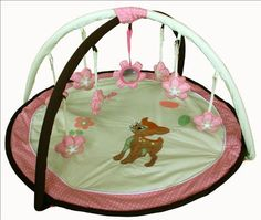 Sisi Pink and Yellow Deer Playgym Playmat by Sisi, http://www.amazon.com/dp/B004RZSZIS/ref=cm_sw_r_pi_dp_Mj2Srb1KCMC4T