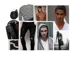"""""""Ootd [ Chadwick ]"""" by believe-in-you-always ❤ liked on Polyvore featuring American Eagle Outfitters, Calvin Klein Underwear, Dr. Martens, Sik Silk, Young & Reckless, David Yurman, Amanda Rose Collection, men's fashion and menswear"""