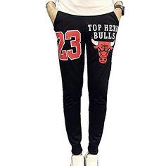 Lvstar Men's Fashion Printed Skinny Jogger Dance Sport Sweatpants