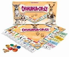 New Chihuahua Opoly Dog Monopoly Board Game Xmas Gift Idea