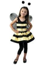 Child Tutu Bumble Bee Costume