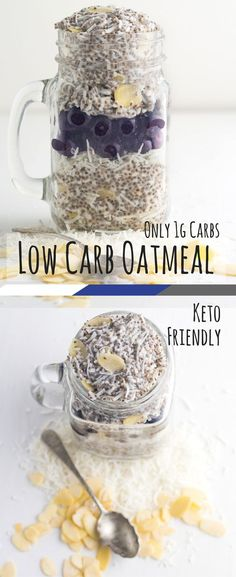Low carb oatmeal is my take on what Australians call porridge. Porridge is usually made from oats and water or milk. Since switching to the ketogenic diet, porridge has been out of the low carb breakfast cereals. This new low carb oatmeal recipe will make your low carb cereal mornings easy again! via @fatforweightlos