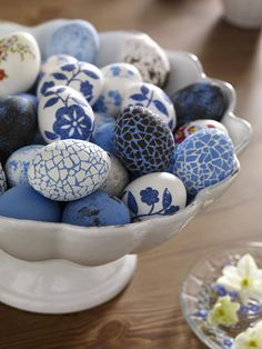 A bowl of Easter Eggs!