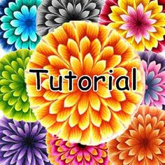 +++++++++++++++++++++++++++++++++++++++++++  Now you can do it too!!!!!!!!!!!  ++++++++++++++++++++++++++++++++++++++++++++    This flower and technic