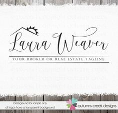 real estate logo logo design logo Premade logo by autumnscreek