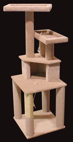 Cat Furniture and Cat Trees. #treecondo - Understanding your cat better at - Catsincare.com!