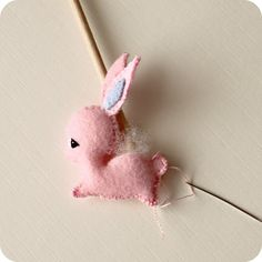 Free Mini Bunny Tutorial and  Pattern - thank you Gingermelon !!!