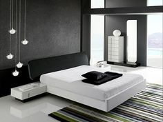 Black and White Bedroom :)