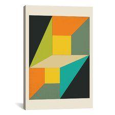 Keats Deja Vu Graphic Art on Wrapped Canvas