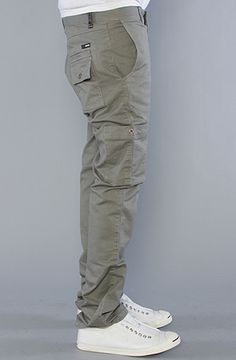KR3W:The K Slim Cargo Pants in Military, Pants for Men