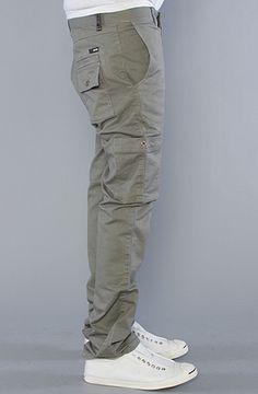 KR3W:The K Slim Cargo Pants in Military, Pants for Men