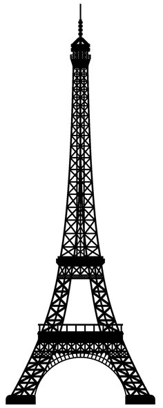 Eiffel Tower silhouette - use to paint the silhouette for a pink and black Paris room Paris Birthday Parties, Paris Party, Paris Theme, Festa Lady Bag, Torre Eiffel Paris, Paris Rooms, Photo Images, Black Silhouette, Clip Art
