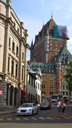 Le Chateau Frontenac. Ville de Québec // Summer 2012
