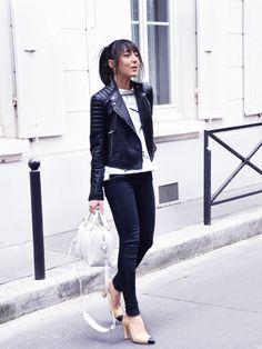 Veste-Cuir-Dior-Sandales-Slingback-Chanel-Sac-Lucrezia-Givenchy