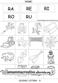 Disegni parole con lettera R Storytelling, Activities For Kids, Education, School, Google, Disability, Victoria, Geography, Letter Activities