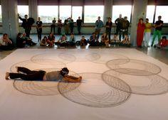 tony orrico: performance drawings