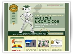 BalanceLogic designed and developed the website for the ANS Sci-Fi & Comic Con, a fundraising event held annually at the Archbishop Neale School in La Plata, Maryland.    The website features vendor and event information, as well as a way for visitors to join the mailing list and visit the Facebook page.