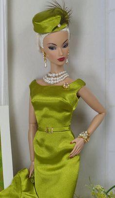 Classic Sheath Ensemble for Silkstone Barbie and Victoire Roux OOAK Doll Fashion