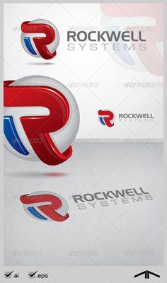 R Letter – Corporate Logo Design — Vector EPS design Logo Design Template, Logo Templates, Three Letter Logos, Logan, Corporate Logo Design, Building Logo, Flat Logo, Web Business, Portfolio Logo