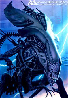 Queen Mother Alien Alien queen by den beauvais