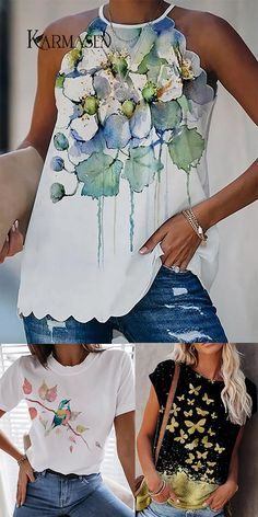 Floral Style, Floral Tops, Floral Prints, Dress Sites, Bohemian Blouses, Women's Tops, Womens Fashion Online, Perfect Fit, Colouring Pencils